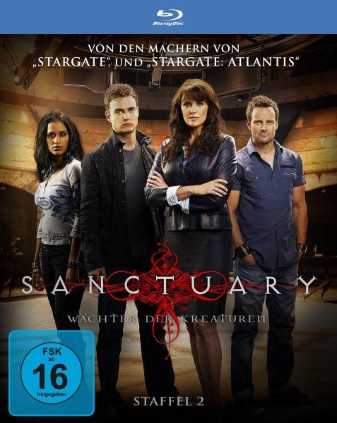 Sanctuary - Wächter der Kreaturen, Staffel 2 in HD (3 Blu-rays)