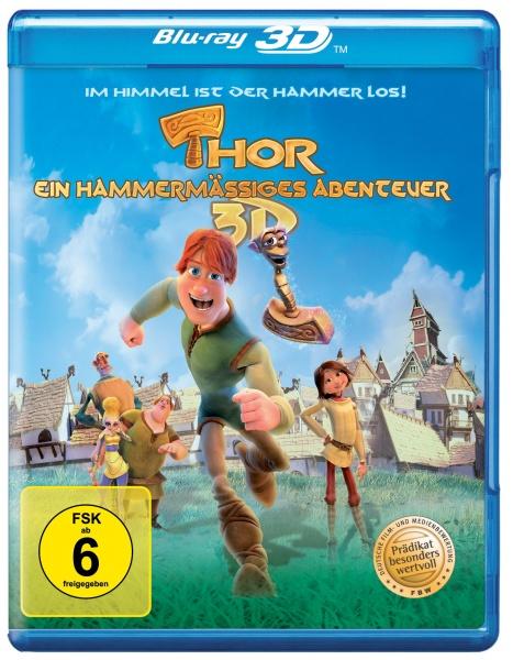 Thor - Ein hammermäßiges Abenteuer (3D Blu-ray inkl. 2D-Fassung)