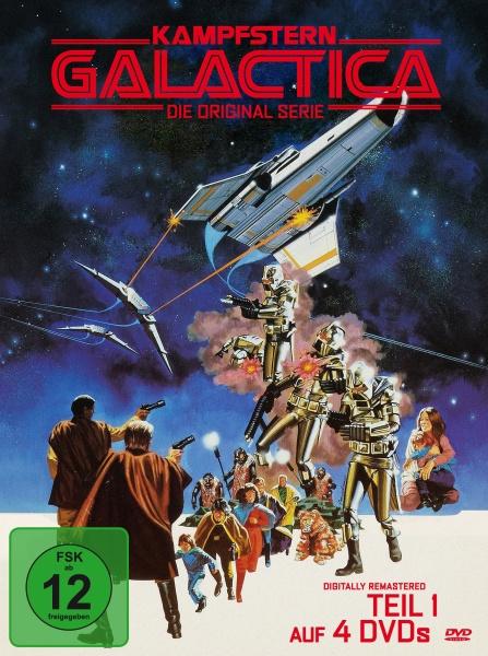 Kampfstern Galactica - Teil 1 (Neuauflage) (4 DVDs)