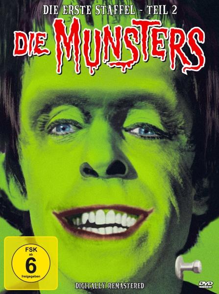 Die Munsters - Staffel 1, Teil 2 (4 DVDs)
