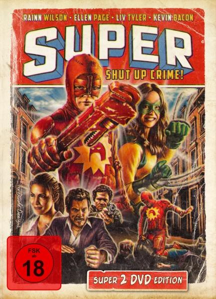 Super - 2-Disc Mediabook Edition (2 DVDs)