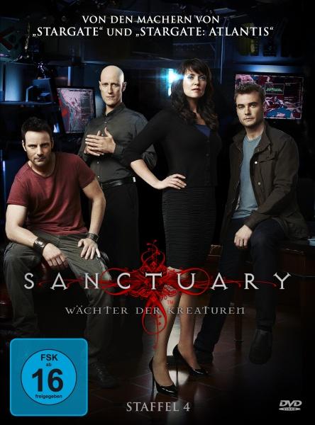 Sanctuary - Wächter der Kreaturen, Staffel 4 (4 DVDs)
