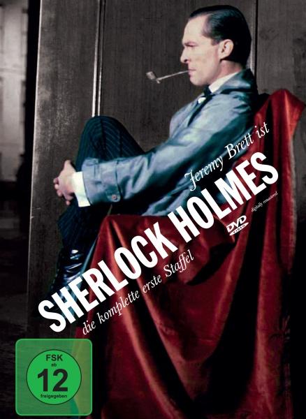 Sherlock Holmes Staffel 1 (4 DVDs) (Neuauflage)