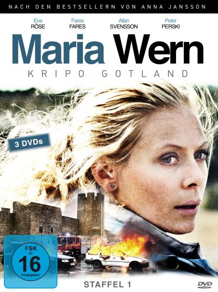 Maria Wern, Kripo Gotland - Staffel 1 (3 DVDs)