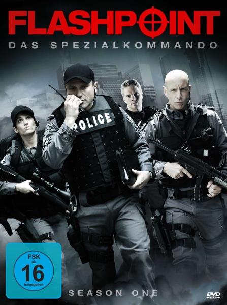 Flashpoint - Das Spezialkommando, Staffel 1 (Neuauflage) (4 DVDs)