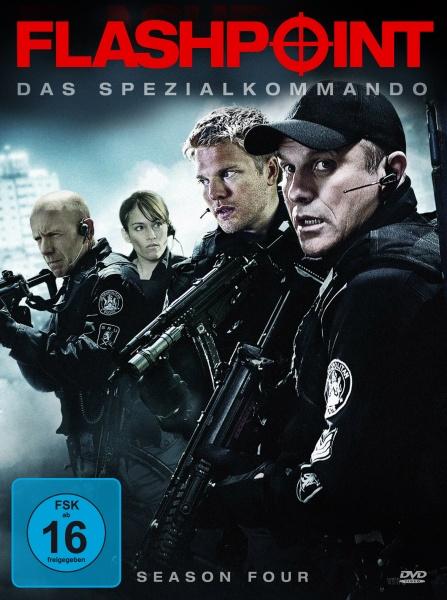 Flashpoint - Das Spezialkommando, Staffel 4 (Neuauflage) (4 DVDs)