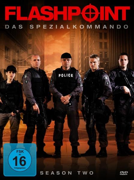 Flashpoint - Das Spezialkommando, Staffel 2 (Neuauflage) (3 DVDs)