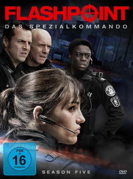 Flashpoint - Das Spezialkommando, Staffel 5 (3 DVDs)