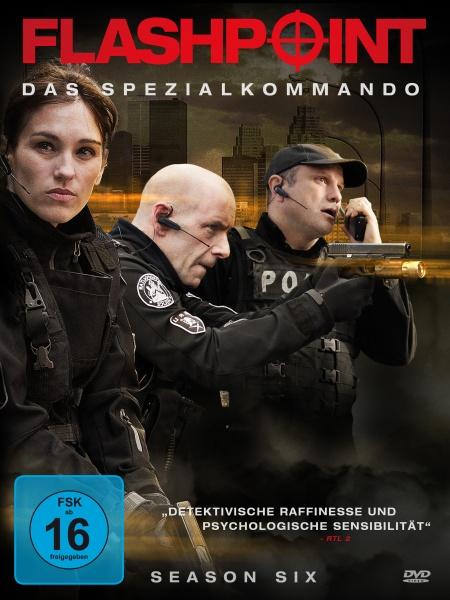 Flashpoint - Das Spezialkommando, Staffel 6 (3 DVDs)
