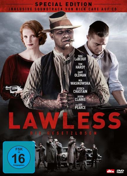Lawless - Die Gesetzlosen (Special Edition mit Soundtrack, DVD+CD)
