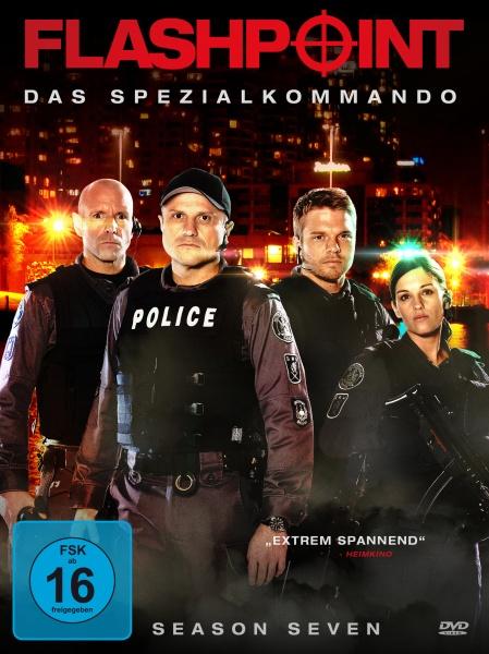 Flashpoint - Das Spezialkommando, Staffel 7 (4 DVDs)
