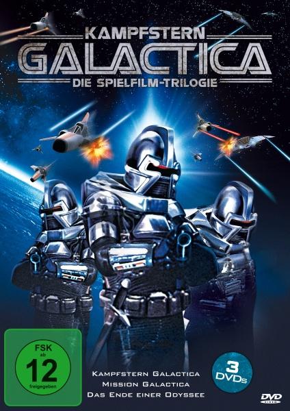 Kampfstern Galactica - Die Spielfilm-Trilogie (3 DVDs)