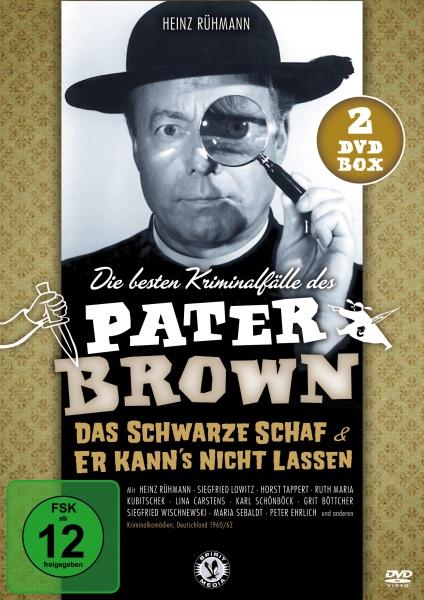 Die besten Kriminalfälle des Pater Brown (2 DVDs)