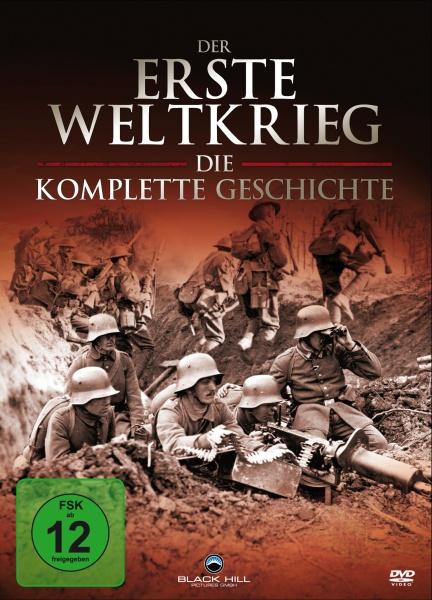 Der erste Weltkrieg - Die komplette Geschichte (4 DVD Box) (Neuauflage)